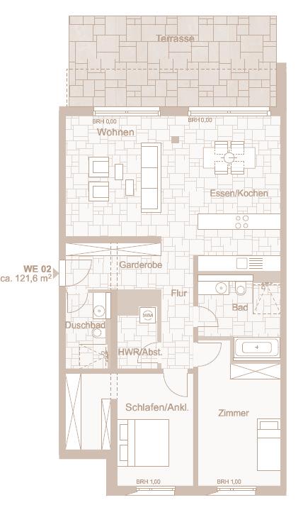 Wohnung 2