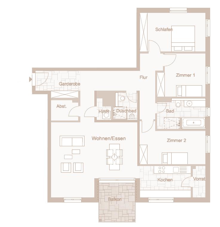Wohnung 57