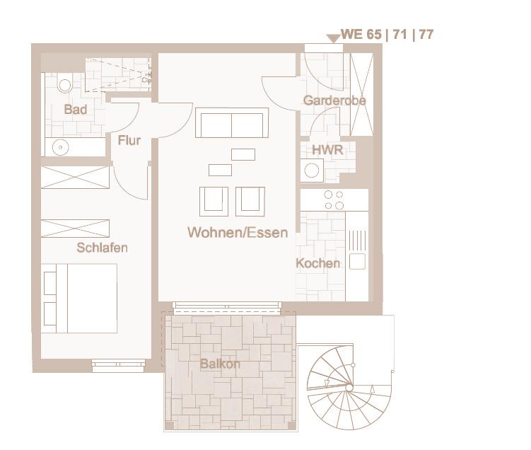Wohnung 77
