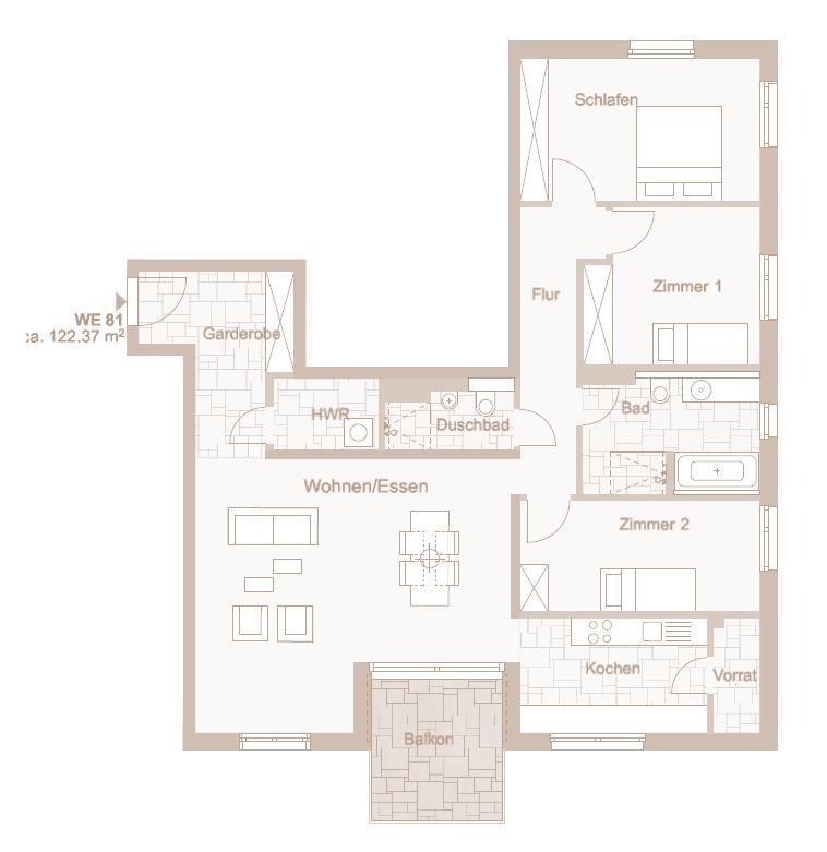 Wohnung 81